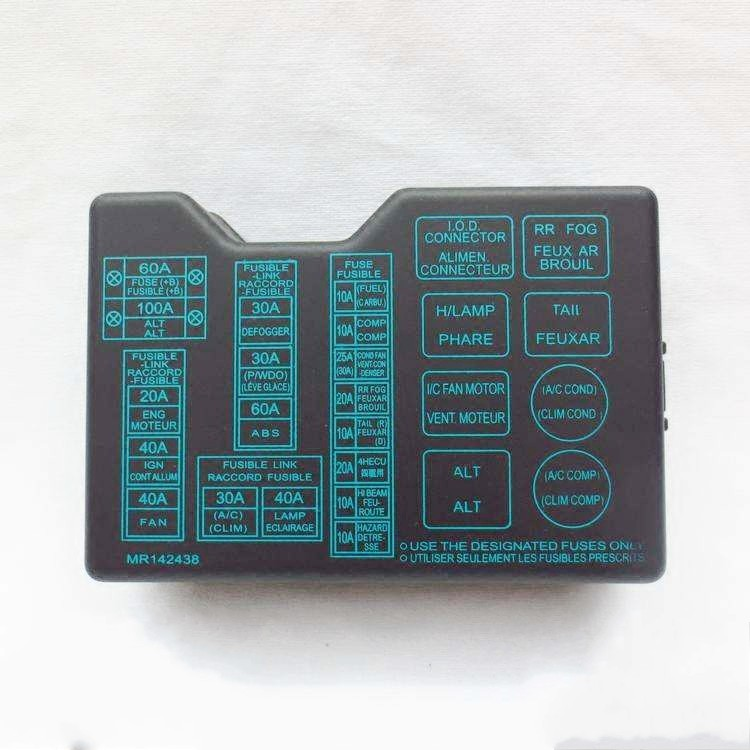Cheetah Black Diamond Lid V31v32v33 Cs6 Fuse Box Cover