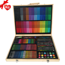 Tool Art Stationery elementary School watercolor pen Crayon birthday gift Gift Box