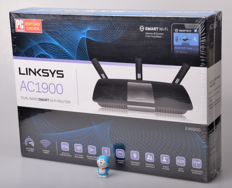 0 00] linksys Cisco EA4500 ea6500 wireless router US version