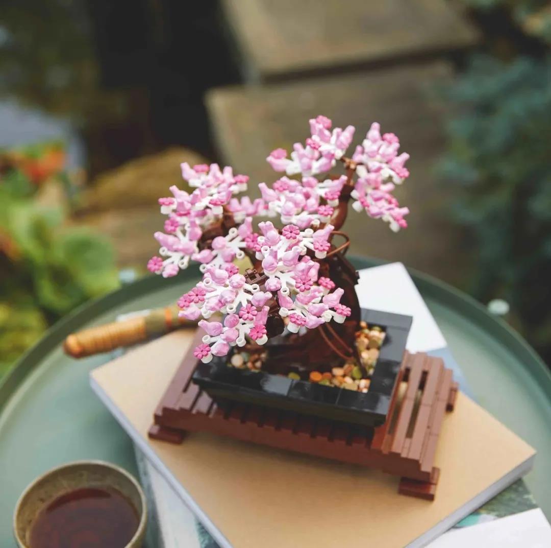 CHACAH韓國專賣~LEGO樂高創意百變10280花朵10281盆景盆栽樹益智拼裝積木玩具禮物