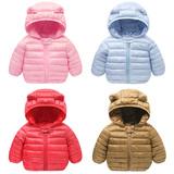 Тонкий хлопок ребенок зима зима ребенок ватник подбитый мужской ребенок женщина 1 лет 3 дети утолщенные внешний хеджирование теплый