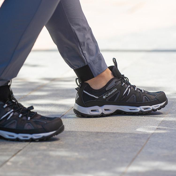 哥伦比亚男鞋2019夏季新款户外运动超轻透气低帮登山徒步鞋DM1238