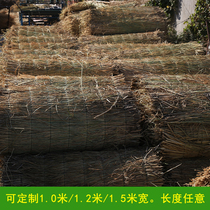 Rice grass curtains grass draped straw rope insulation shed decoration grass curtains straw mat rice grass Curtains