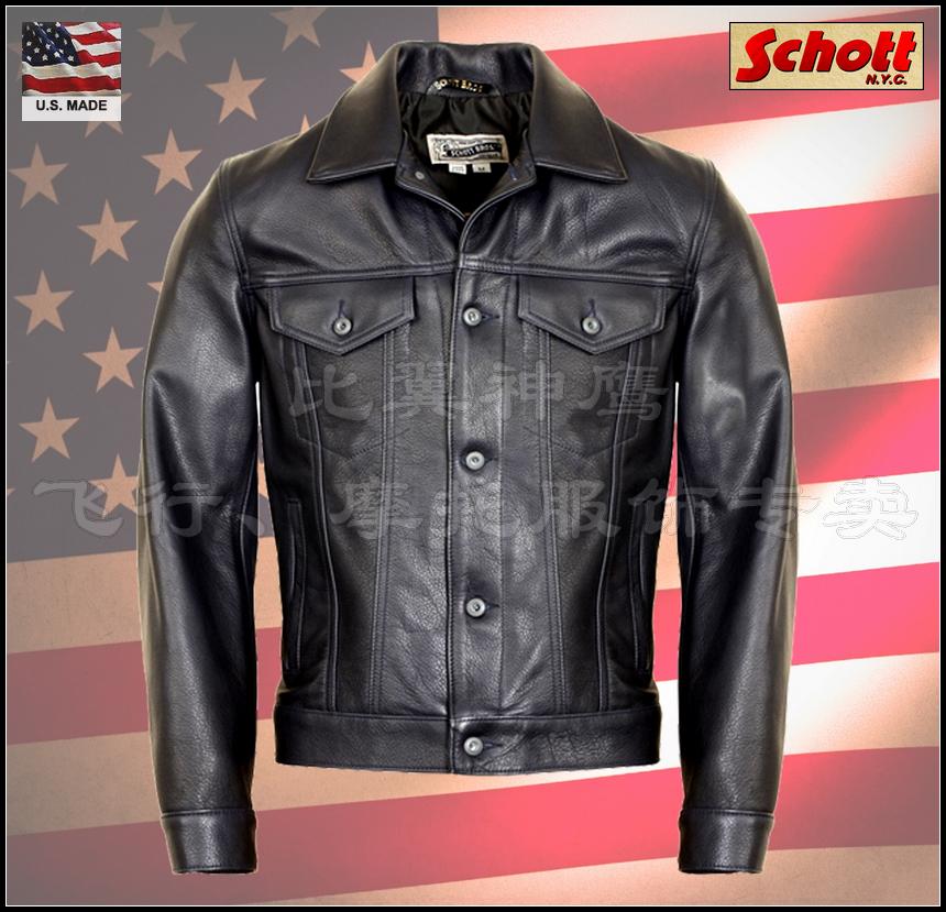Одежда из кожи Others Schott NYC 2014 #120
