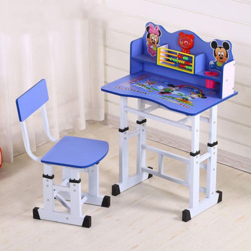 儿童书桌椅写字课小学生桌家用简约孩子书柜学习台桌椅套装组合桌