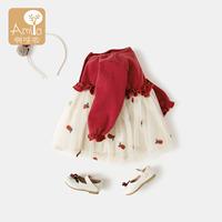 Детские Юбка женская весна 2019 новая коллекция 0-1 лет детские для маленькой принцессы Юбка юбка 2 на младенца демисезонный Сезонное платье 3