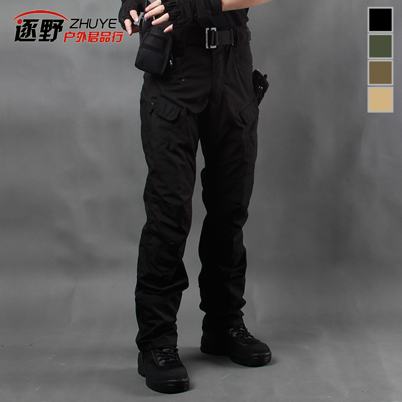 Archon IX7 tactical pants spring summer and autumn straight outdoor  overalls urban Secret Service combat pants Army fan training pants