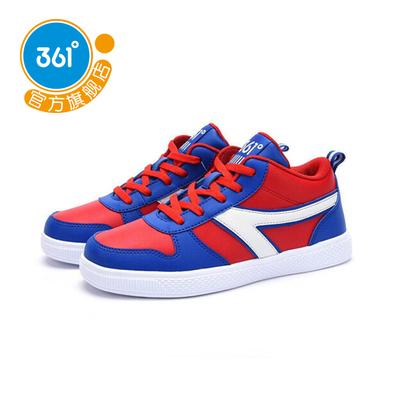 361度童装 男童鞋高帮鞋运动鞋