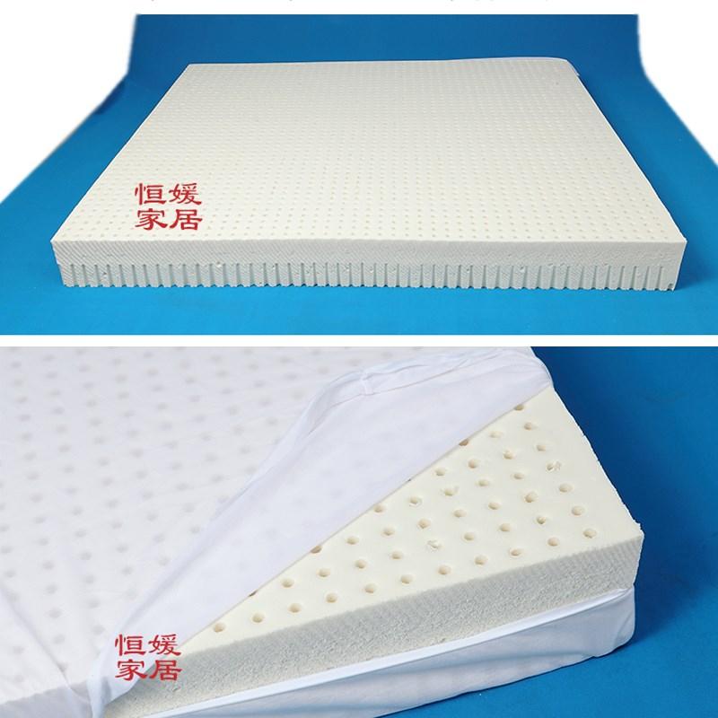 Nệm cao su 2 3cm Thái Lan cao su silicon tự nhiên nguyên chất 1,8 mét trải chiếu 1.2 đơn siêu mỏng giải phóng mặt bằng - Nệm
