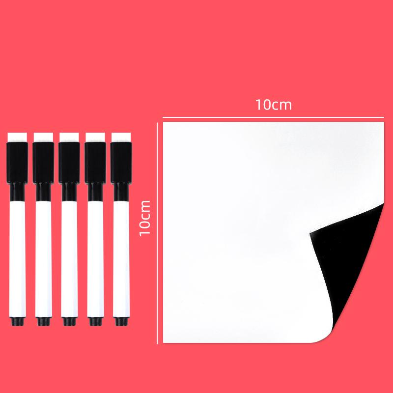 得力软白板墙贴家用可移除擦写留言板可粘写字板儿童画板磁铁白板贴磁性黑板纸小墙贴磁力记事板贴墙涂鸦墙壁