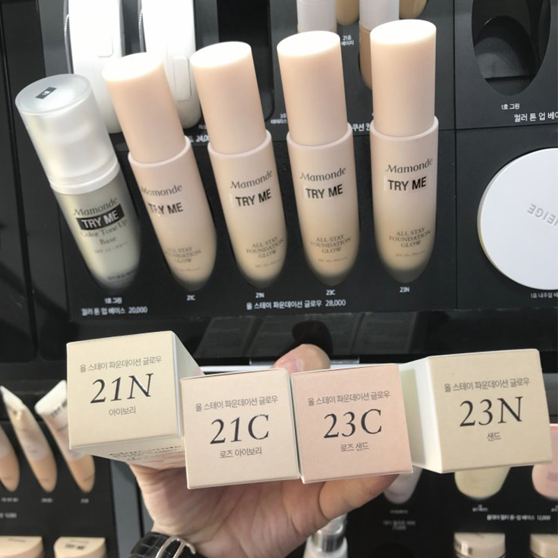 Hàn Quốc Counter Dream Makeup Mamode New Brightening Foundation Liquid Brightening Concealer SPF25 PA ++ - Nền tảng chất lỏng / Stick Foundation
