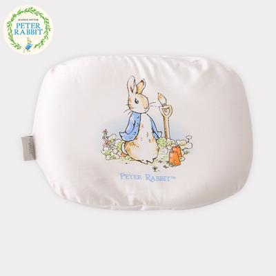 比得兔定型枕宝宝婴儿乳胶纠正防偏头睡枕初新生矫正头型枕头四季