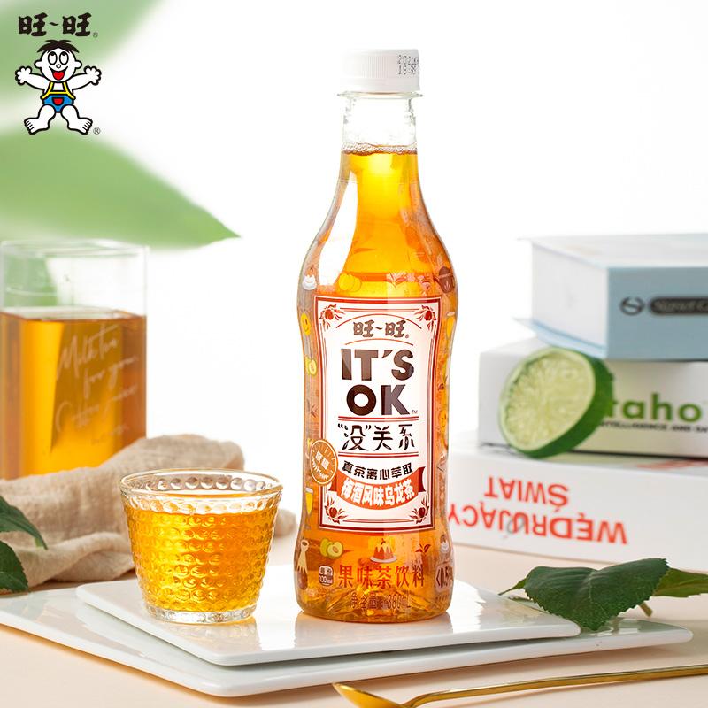 【6瓶装】旺旺没关系梅酒风味绿茶乌龙茶