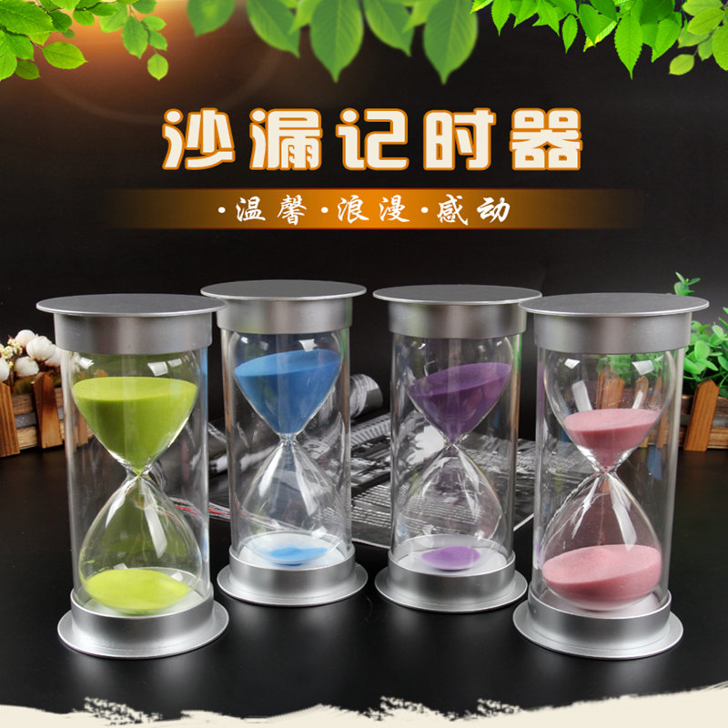 Hourglass timer child shatter-resistant safety decoration brushing 3