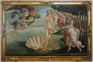 World famous painting Botticelli oil painting decorative painting Chinese painting, photographed links to download a total of 32 5.27G