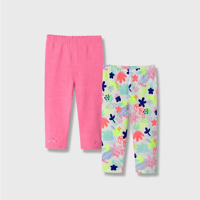 【2条】女宝宝打底裤薄款婴幼儿裤子女童长裤休闲儿童弹力裤PP裤