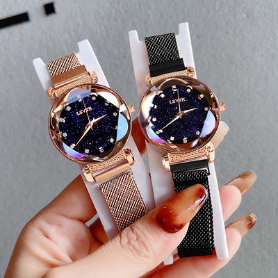 手表女ins风简约气质星空满天星学生防水2021年新款韩版时尚女士