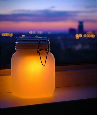 UK Suck UK Sun Jar Sun Jar Moonlight Jar Jar to store the sun Tanabata gift