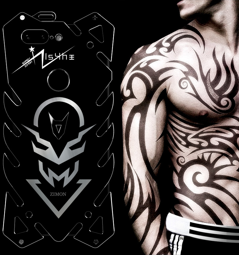 SIMON New THOR II Aviation Aluminum Alloy Shockproof Armor Metal Case Cover for OnePlus 5T