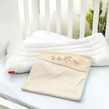 宝宝纯棉透气枕头婴儿儿童四季通用
