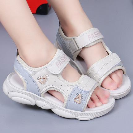 2020夏季新款女童学生凉鞋韩版小女孩儿童小熊鞋公主凉鞋