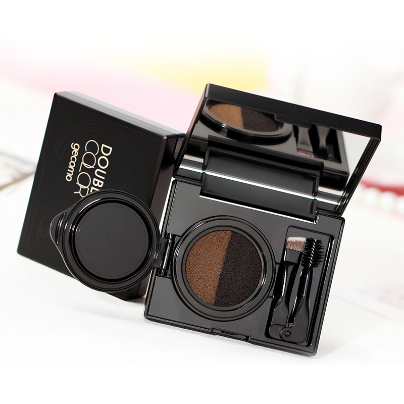 Eyebrow Brush Makeup Set New Beauty Goods Of Every Description Are Available Waterproof And Sweatproof Two-color Fog Cushion Air Cushion Liquid Eyebrow Pencil