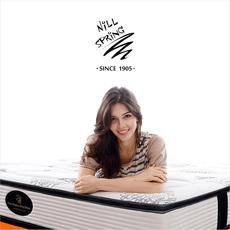 尼丝普林独立弹簧进口乳胶床垫1.5 1.8米
