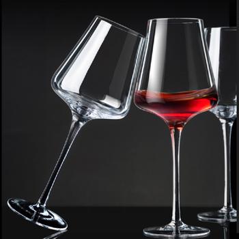 【雅典娜】水晶红酒高脚杯2支券后8.9元包邮