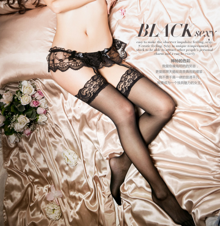 26c4a3cebc0 Sexy temptation sexy lingerie lace large size sling socks net stockings  female stockings thong garter suit