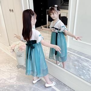 【网红爆款】童装汉服超仙女公主裙