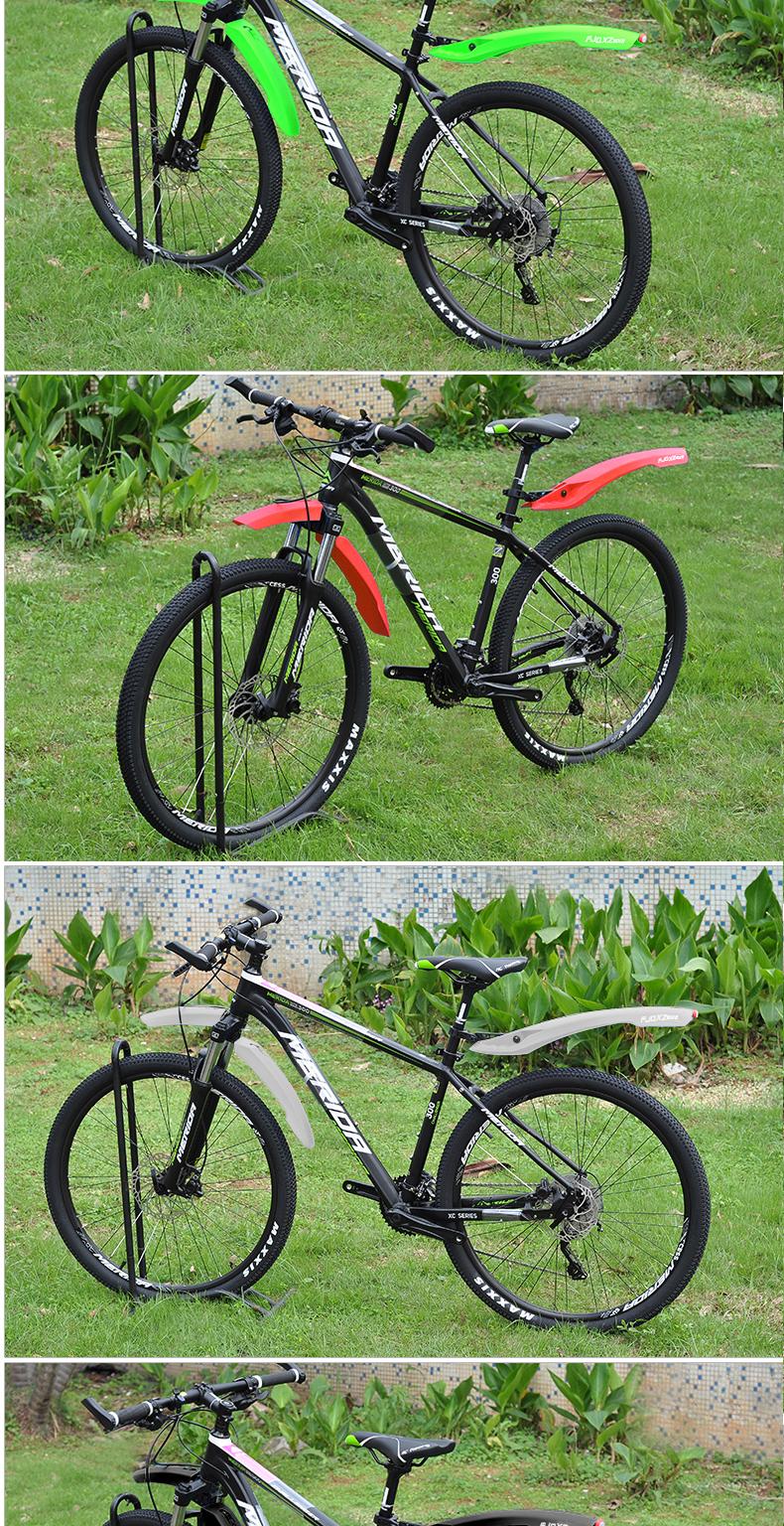 自行车挡泥板登山车伸缩遮雨板泥瓦全包式寸加长通用配件装备详细照片