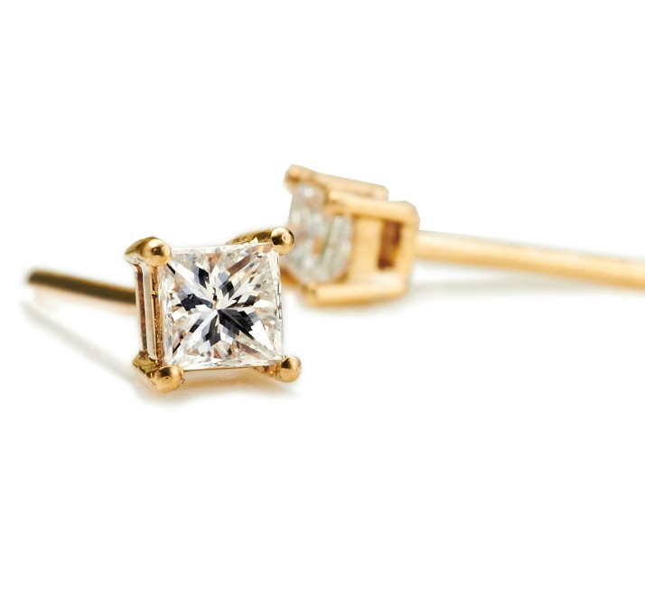 signature diamond hexagon shop earrings medium white and walters gold stud wgwd keynes