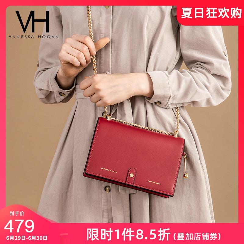 VH女包2020新款斜挎小包时尚潮流包包链条包小清新女士可爱单肩包