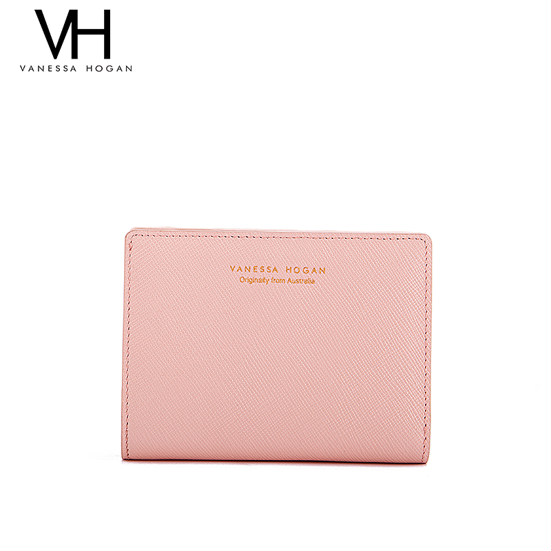 900dc0c298 USD 158.77] VH handbags leather short wallet female buckle small ...
