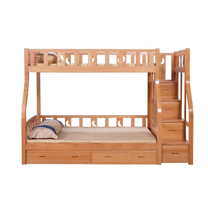 Mother bed Bunk all-solid wood upper and lower beds for boys and ...
