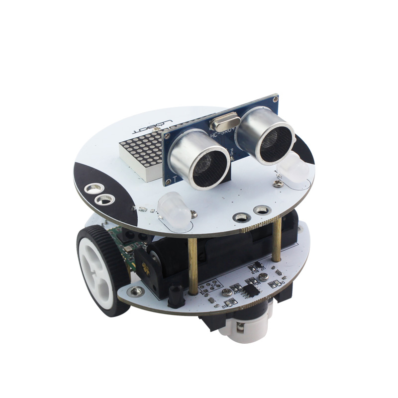 Scratch Programming Robot Kit Compatible with Arduino Trolley/Creator  Education Robot/Qbot