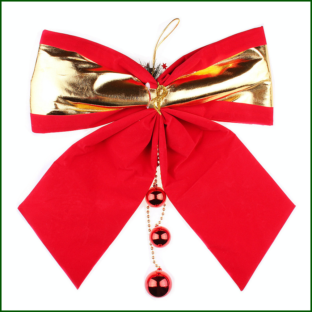 Usd 6 52 Chen Tao Christmas Decorations Christmas Large Bow Hanging