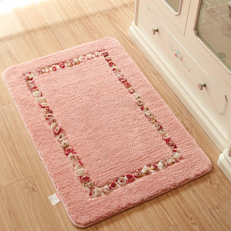 田园地垫门垫进门入户玄关卫生间厨房门厅吸水脚垫浴室防滑垫地毯