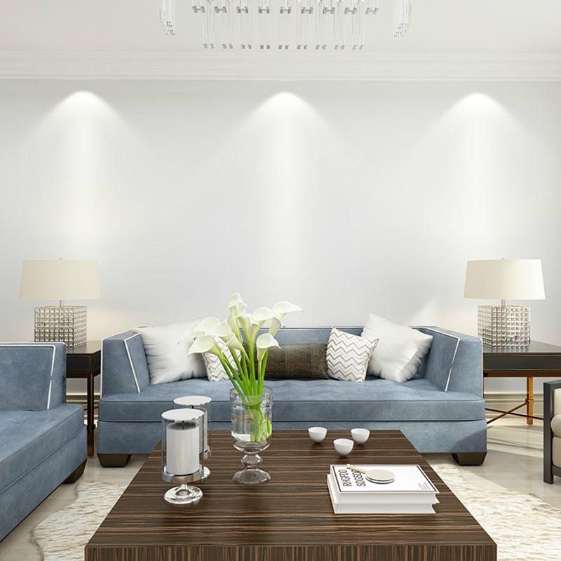 白色墙纸自粘PVC防水简约家具翻新墙贴券后11.50元