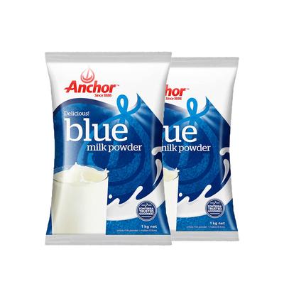 安佳全脂成人奶粉成年中老年人早餐牛奶粉学生 调制乳粉1KG*2袋