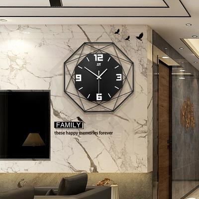 家用挂钟客厅创意现代简约大气时钟石英钟时尚个性装饰北欧钟表