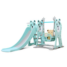 Children's slide indoor baby home multi-function slide slide baby combination slide swing plastic toy thickening