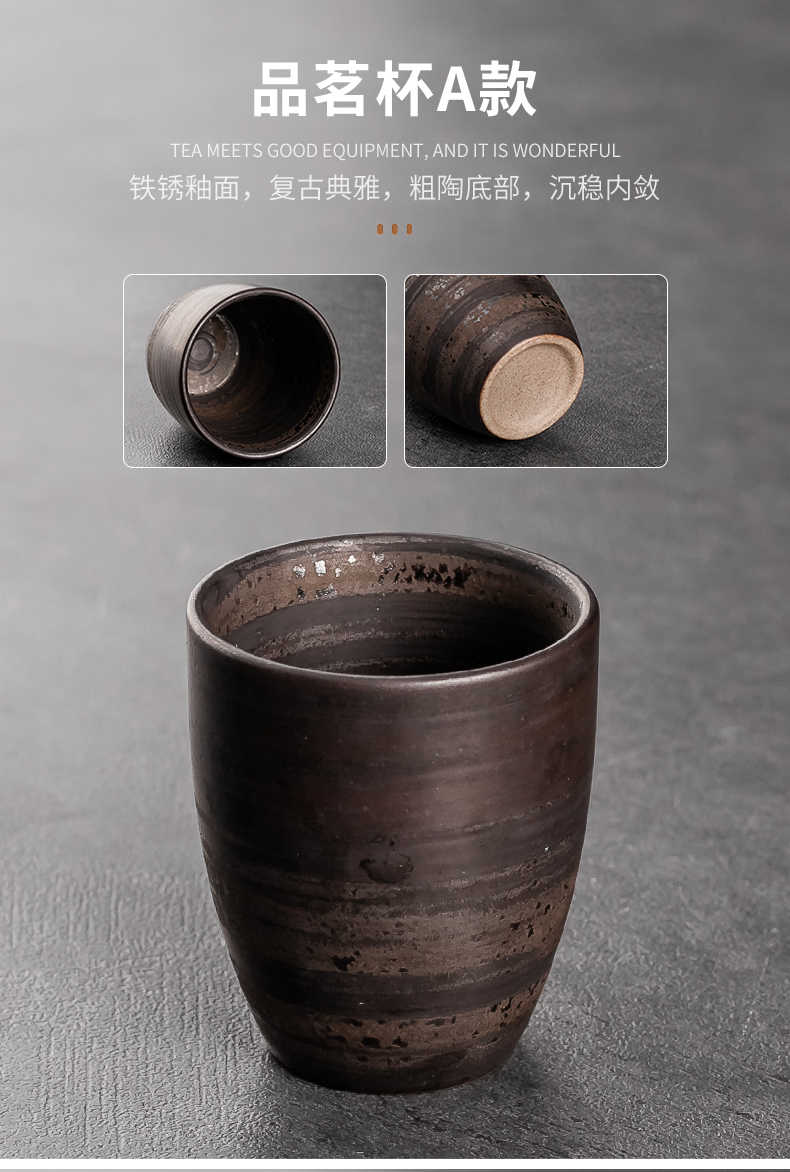 Japanese household glass ceramic cup large restoring ancient ways the hotel coffee cup ultimately responds cups of the river on the masters cup
