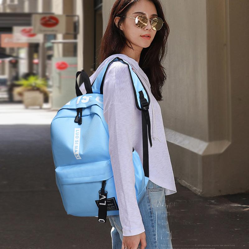 2020新款双肩包轻便小清新背包时尚气质韩版包包潮流学生书包