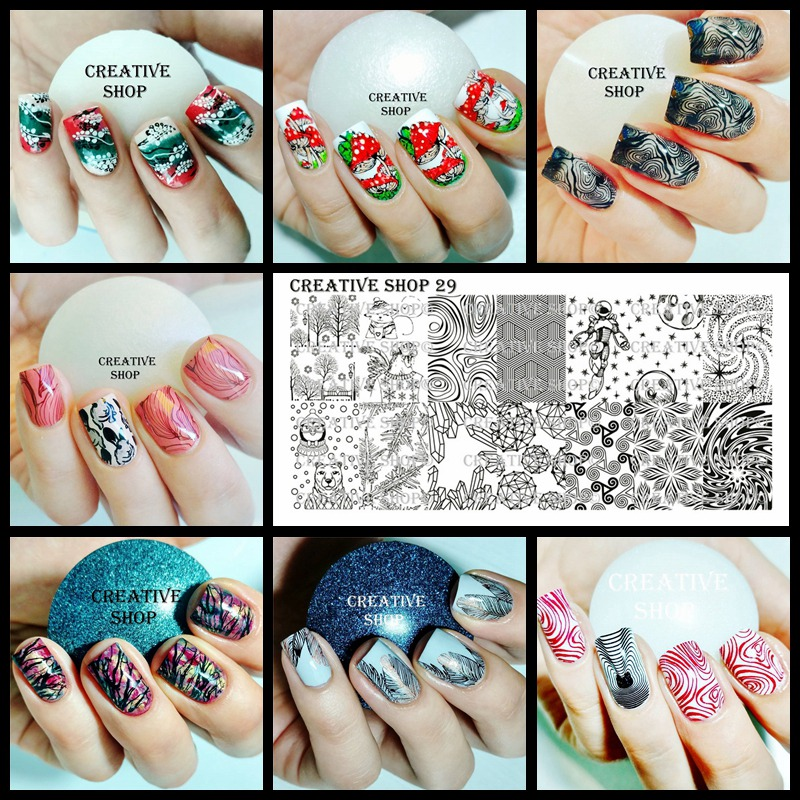 Usd 1998 Ukraine Creative Shop Nail Art Printing Template No 16