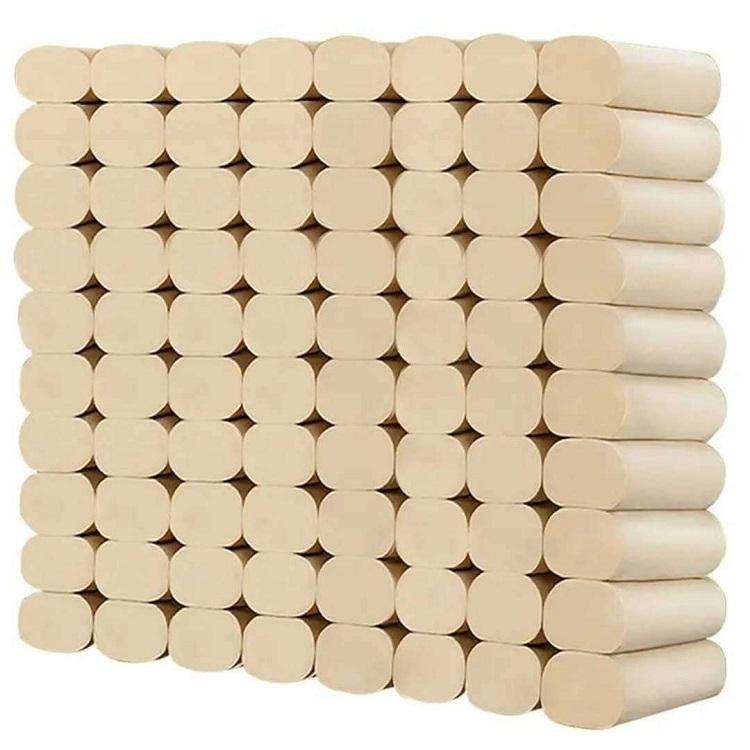【48卷】卫生纸本色家用卫生纸卷筒纸厕纸手纸纸巾卷纸