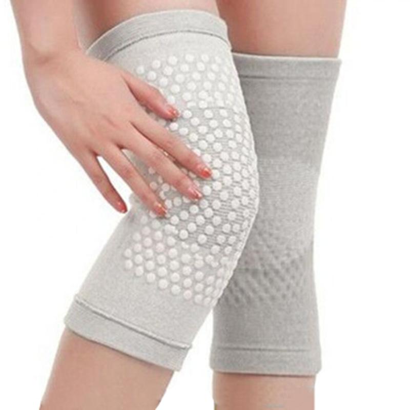 四季护膝男女士老寒腿关节自发热透气加绒保暖无痕竹炭护膝护腿套