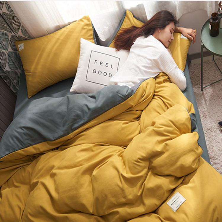 四件套床上用品亲肤单①被套床单学生宿舍4三件套