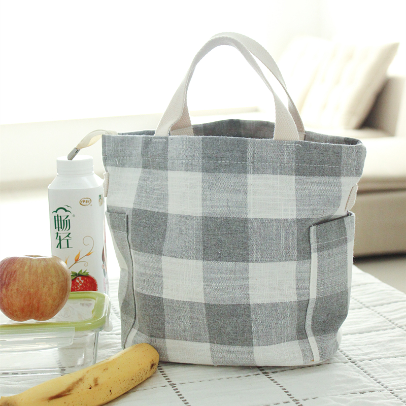 Can Messenger Bag Lunch Box Multi Functional Package Environmental Protection Cotton Soft