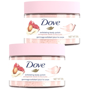 Dove body scrub 298g*2